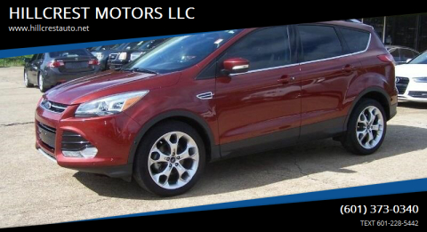 2014 Ford Escape for sale at HILLCREST MOTORS LLC in Byram MS