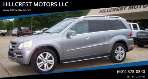 2012 Mercedes-Benz GL-Class for sale at HILLCREST MOTORS LLC in Byram MS