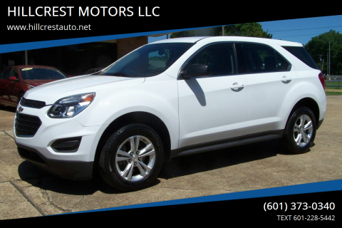2017 Chevrolet Equinox for sale at HILLCREST MOTORS LLC in Byram MS