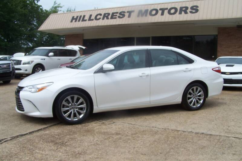 2015 Toyota Camry for sale at HILLCREST MOTORS LLC in Byram MS
