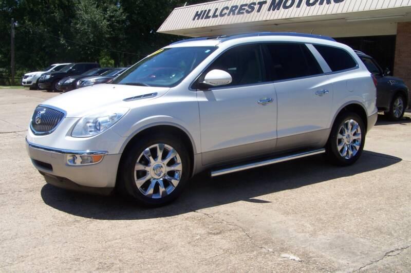2012 Buick Enclave for sale at HILLCREST MOTORS LLC in Byram MS