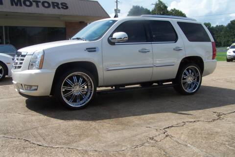 2008 Cadillac Escalade for sale at HILLCREST MOTORS LLC in Byram MS