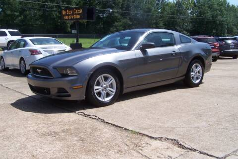 2014 Ford Mustang for sale at HILLCREST MOTORS LLC in Byram MS