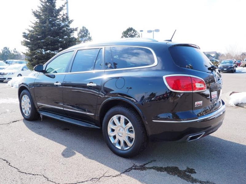 Buick Enclave Premium AWD Dr SUV In Denver CO Alpine Buick GMC - Buick denver