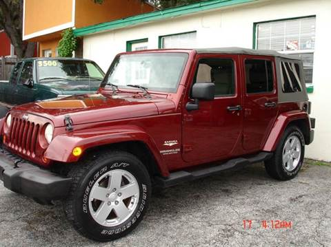 2007 jeep wrangler for sale in florida. Black Bedroom Furniture Sets. Home Design Ideas