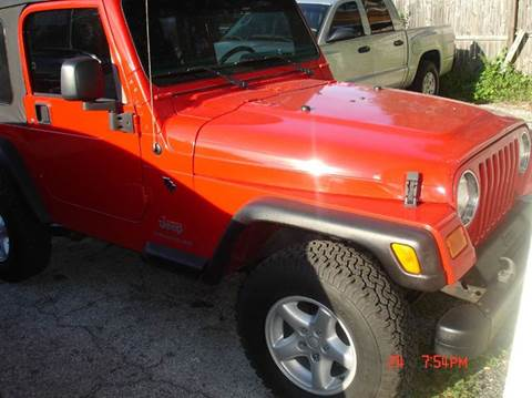 2005 jeep wrangler for sale in florida. Black Bedroom Furniture Sets. Home Design Ideas