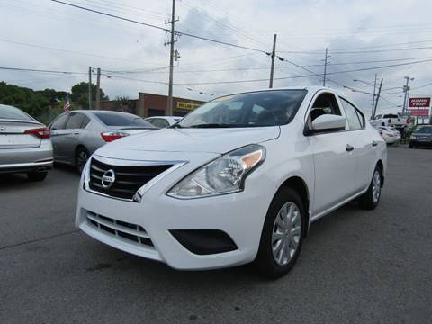 2016 Nissan Versa for sale at A & A IMPORTS OF TN in Madison TN