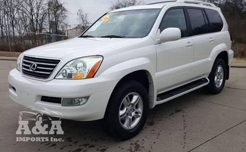 2007 Lexus GX 470 for sale at A & A IMPORTS OF TN in Madison TN