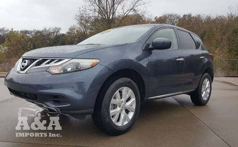 2013 Nissan Murano for sale at A & A IMPORTS OF TN in Madison TN