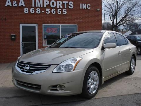 2010 Nissan Altima for sale at A & A IMPORTS OF TN in Madison TN