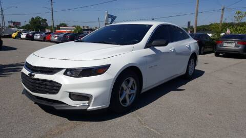 2017 Chevrolet Malibu for sale at A & A IMPORTS OF TN in Madison TN
