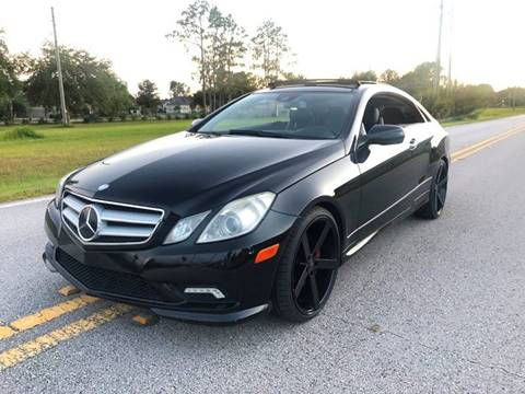 2010 Mercedes-Benz E-Class for sale in Land O Lakes, FL