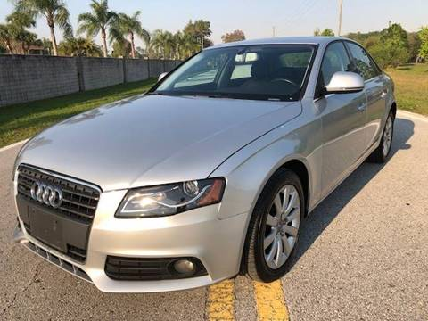 2009 Audi A4 for sale in Land O Lakes, FL