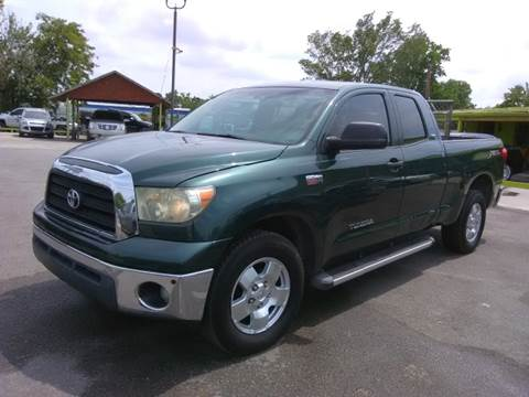 2007 Toyota Tundra for sale at RODRIGUEZ MOTORS CO. in Houston TX