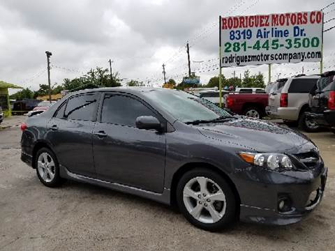 2011 Toyota Corolla for sale at RODRIGUEZ MOTORS CO. in Houston TX