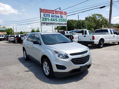 2016 Chevrolet Equinox for sale in Houston, TX