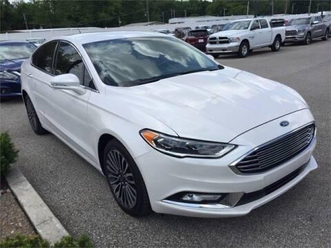 2017 Ford Fusion SE for sale at Audubon Chrysler Center in Henderson KY