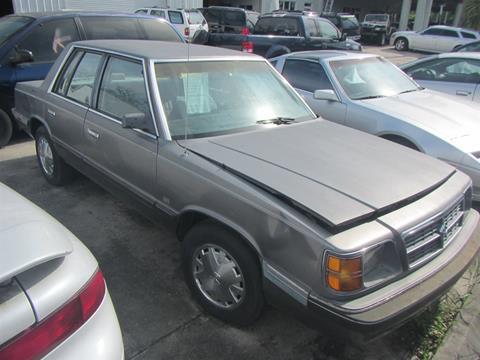 1987 Dodge Aries K for sale in Sarasota, FL