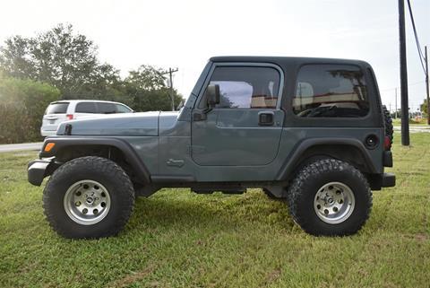 2002 Jeep Wrangler for sale in Sarasota, FL