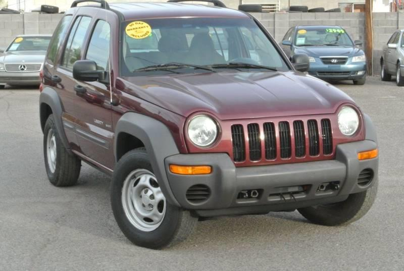 2003 Jeep Liberty 4dr Sport 4wd Suv In Apache Junction Az 1st