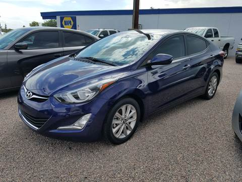 2014 Hyundai Elantra for sale at 1ST AUTO & MARINE in Apache Junction AZ