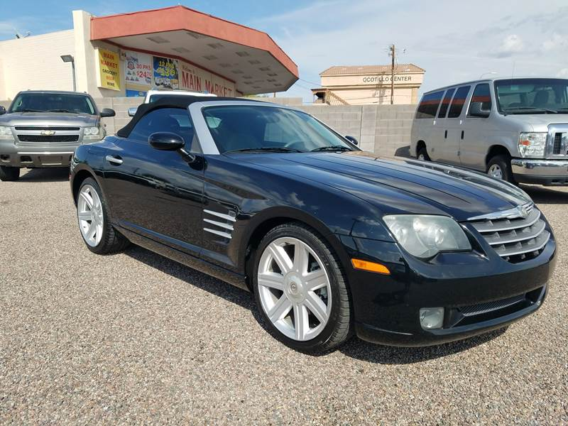 2006 Chrysler Crossfire 2dr Convertible In Apache Junction Az 1st