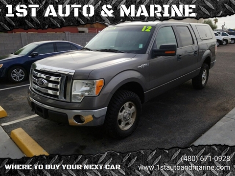 2012 Ford F-150 for sale in Apache Junction, AZ