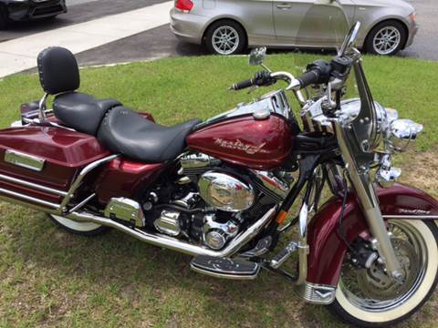 2002 Harley-Davidson Road King for sale at TOP OF THE LINE AUTO SALES in Fayetteville NC