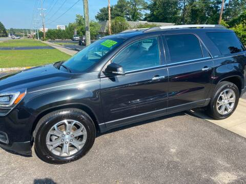 Gmc Acadia For Sale In Fayetteville Nc Top Of The Line Auto Sales