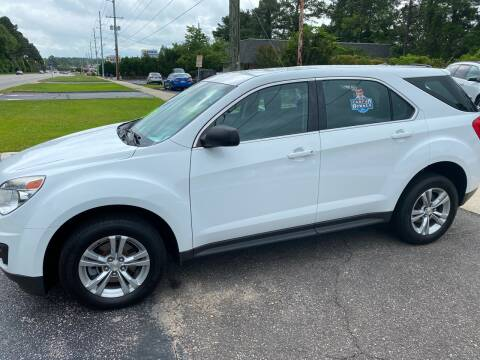 2014 Chevrolet Equinox for sale at TOP OF THE LINE AUTO SALES in Fayetteville NC