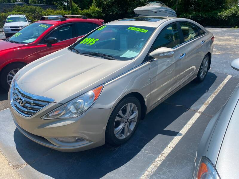 2011 Hyundai Sonata for sale at TOP OF THE LINE AUTO SALES in Fayetteville NC