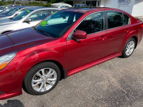 2013 Subaru Legacy for sale at TOP OF THE LINE AUTO SALES in Fayetteville NC