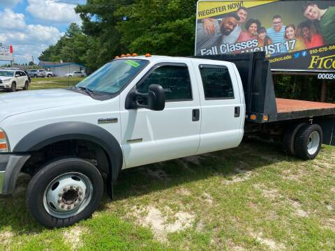 2006 Ford F-450 Super Duty for sale at TOP OF THE LINE AUTO SALES in Fayetteville NC