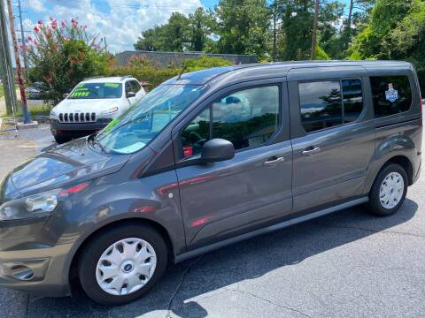 2015 Ford Transit Connect Wagon for sale at TOP OF THE LINE AUTO SALES in Fayetteville NC