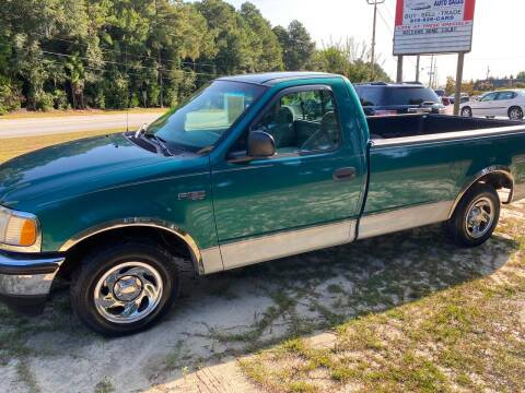 1998 Ford F-150 for sale at TOP OF THE LINE AUTO SALES in Fayetteville NC