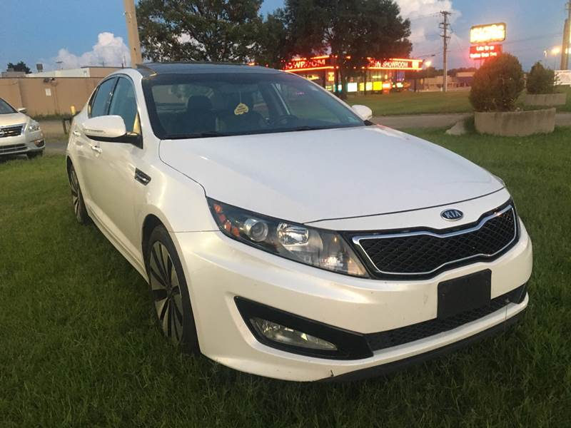 2012 Kia Optima SX Turbo 4dr Sedan 6A   Columbus OH