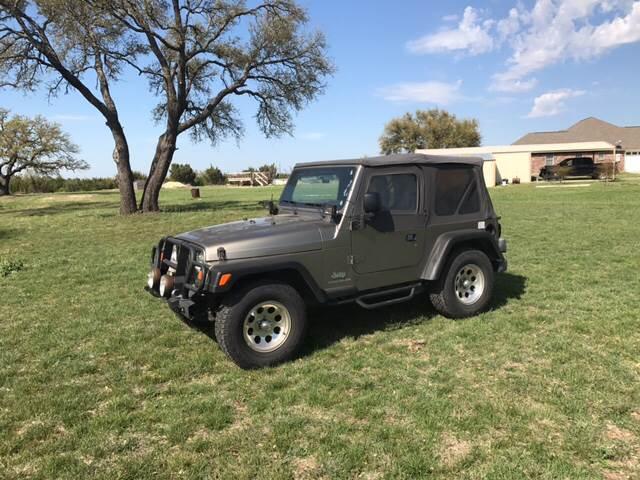 2003 Jeep Wrangler SE 4WD 2dr SUV - Stephenville TX