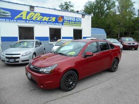 2010 Ford Focus for sale in Pennsboro, WV