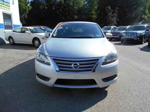 2014 Nissan Sentra for sale in Pennsboro, WV
