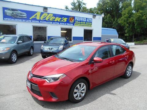 2015 Toyota Corolla for sale in Pennsboro, WV