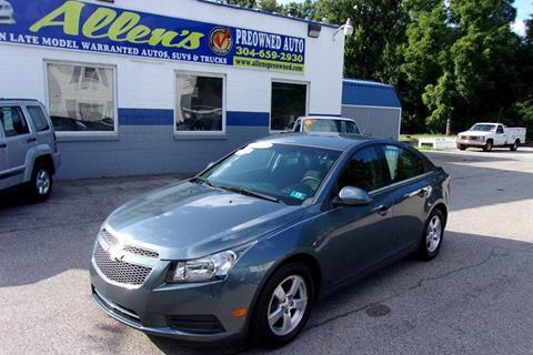 2012 Chevrolet Cruze for sale in Pennsboro, WV