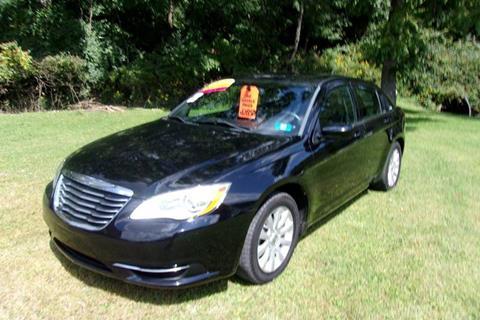 2013 Chrysler 200 for sale in Pennsboro, WV