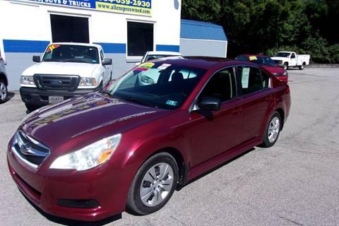2010 Subaru Legacy for sale in Pennsboro, WV