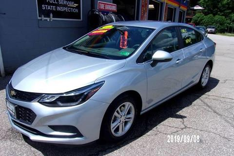 2017 Chevrolet Cruze for sale at Allen's Pre-Owned Autos in Pennsboro WV
