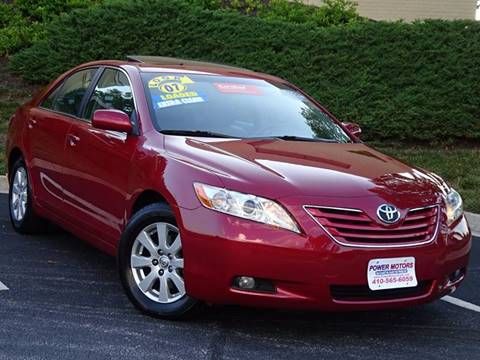 2007 Toyota Camry for sale in Halethorpe, MD