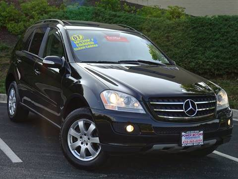 2007 Mercedes-Benz M-Class for sale in Halethorpe, MD