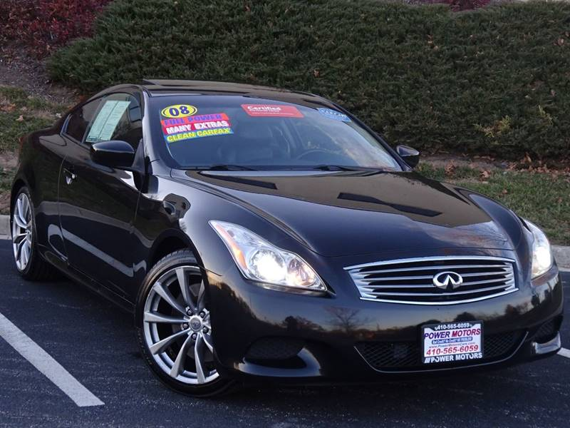 2008 Infiniti G37 Sport In Halethorpe Md Power Motors