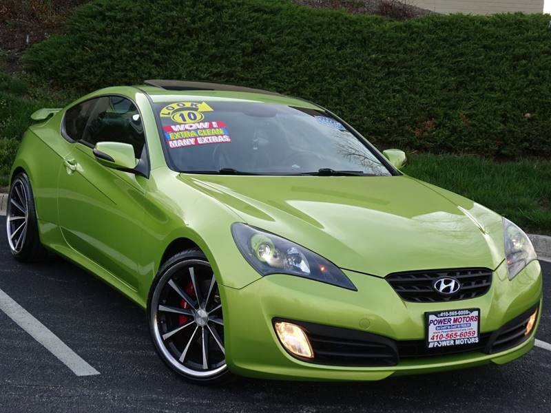 2010 Hyundai Genesis Coupe For Sale At Power Motors In Halethorpe MD