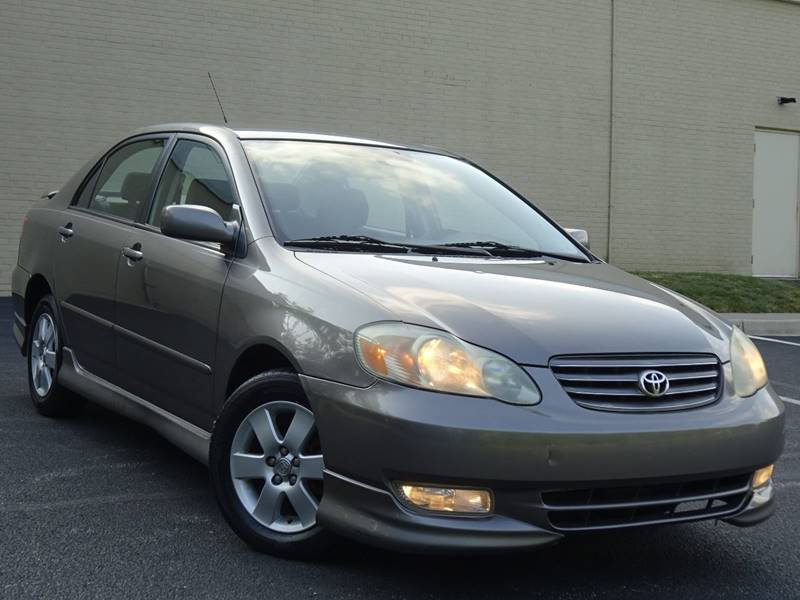 2003 Toyota Corolla For Sale At Power Motors In Halethorpe MD