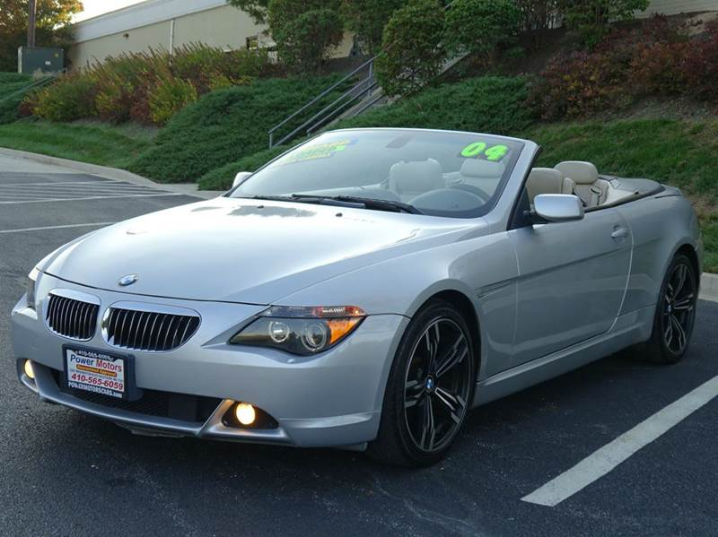 BMW Series Ci In Halethorpe MD Power Motors - Bmw 645 convertible for sale
